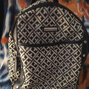 Tommy Hilfiger monogrammed backpack. Final price